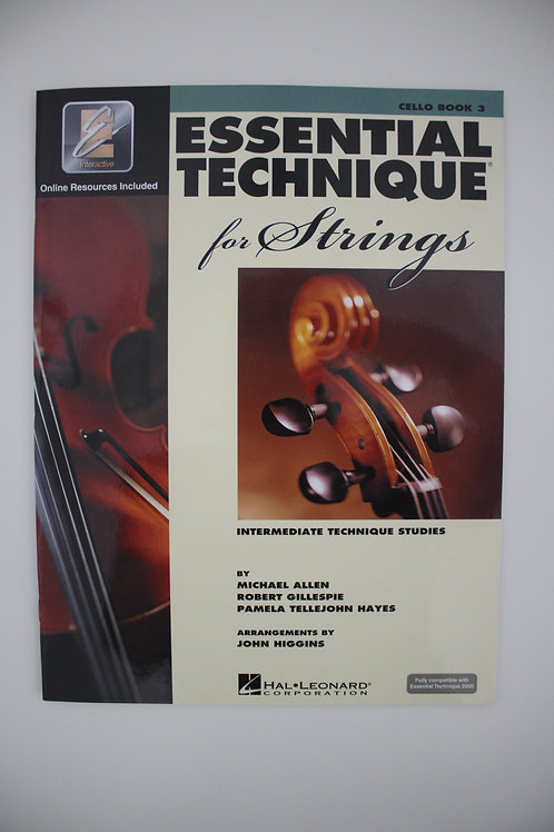 Essential Technique for Strings: Cello Book 3