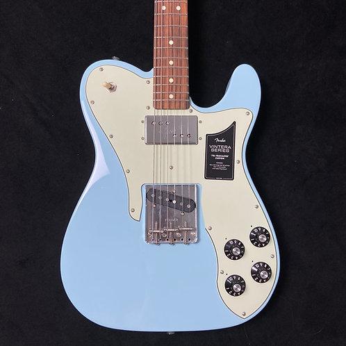 Fender Vintera 70s Telecaster Custom - Sonic Blue