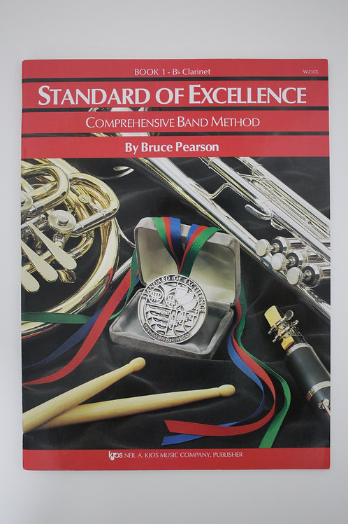 Standard Of Excellence: Comprehensive Band Method, Clarinet Book 1