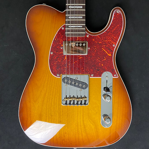 G&L USA ASAT Classic Bluesboy - Old School Tobacco Sunburst