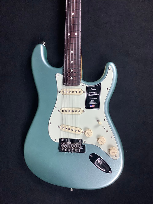 Fender American Professional ll Stratocaster - Mystic Surf Green