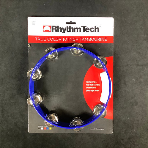 "RhythmTech 10"" Tamborine Blue"