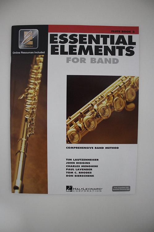 Essential Elements: Comprehensive Band Method, Flute Book 2