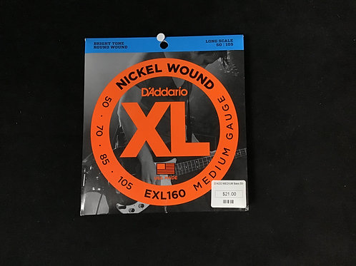 D'Addario medium Bass strings