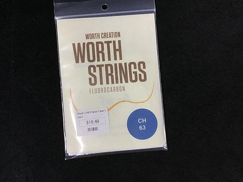 Worth CH 63 Clear Strings Hard