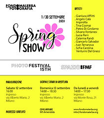 POSTER SPRING SHOW