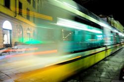 tram speed