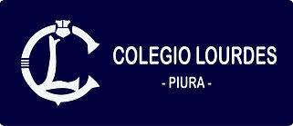 Colegio Lourdes logo fondo rectandgular
