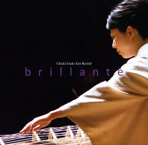 CD「-brillante- 遠藤千晶箏リサイタル」