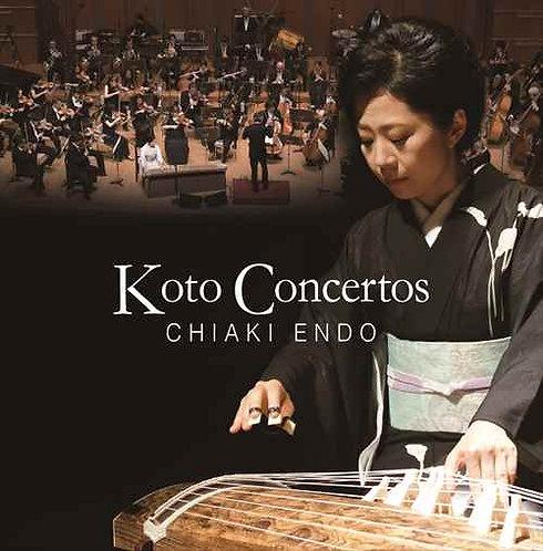 CD2枚組「Koto Concertos CHIAKI ENDO 遠藤千晶-箏協奏曲の軌跡-」2018年10月24日発売