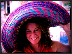 Styling in a sombrero!