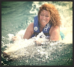 Surfing with Dolphins...whoot!