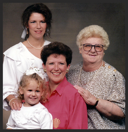 4 generations of godly influence.