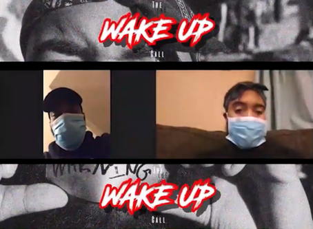THE WAKE UP CALL DROPS EPISODE 5 IN 4 PARTS TUNE IN TO HEAR THEIR TAKE ON SOCIAL DISTANCING & MORE!