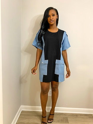 """""""Denim By Any Means"""" Dress"""