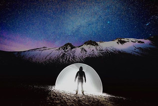 Mi portal a la luna 🌙__#nevadodetoluca