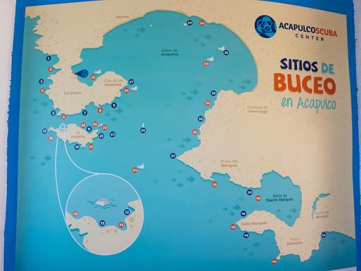 Buceo en Acapulco: ¿ Dónde, cómo y cuánto cuesta bucear en México?