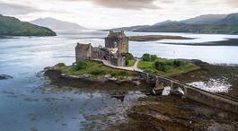 El castillo de Eilean Donan... Un reencu