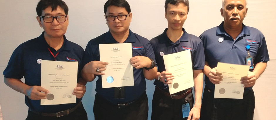 Security Officers Day Awards 2019