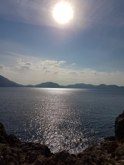 views across the bay