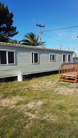 2 bedroom static home with sea view