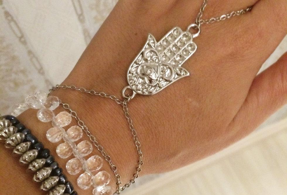 Hand Chain Hamsá