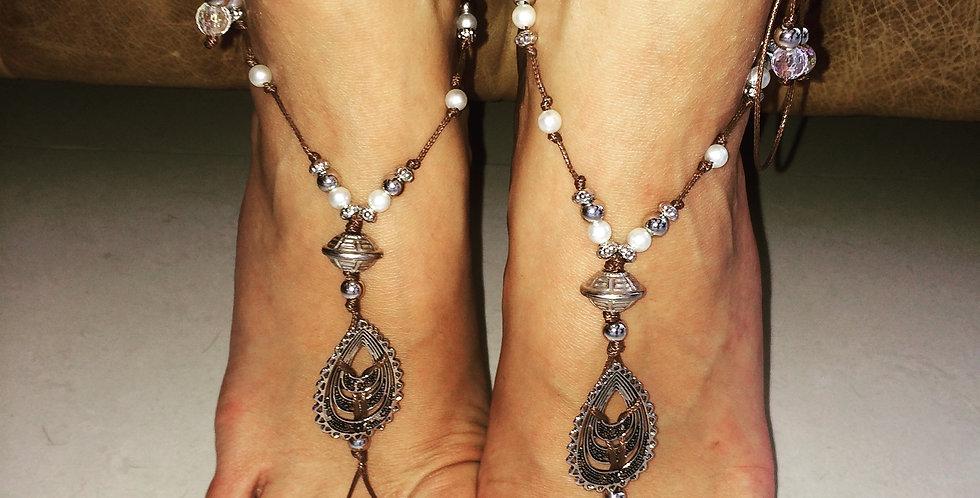 Barefoot Sandals Brown Suggar