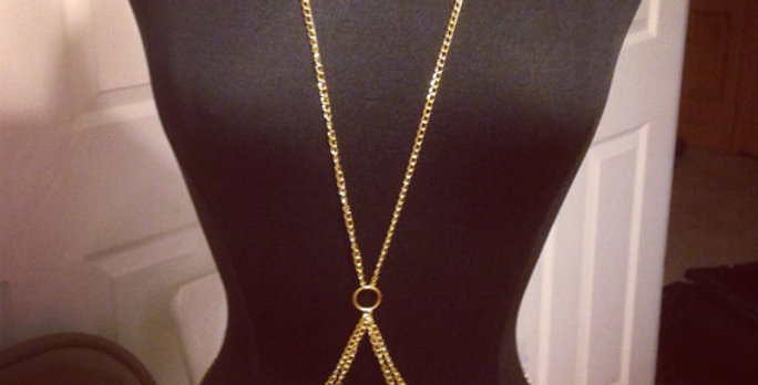 Body Chain Corrente Dupla