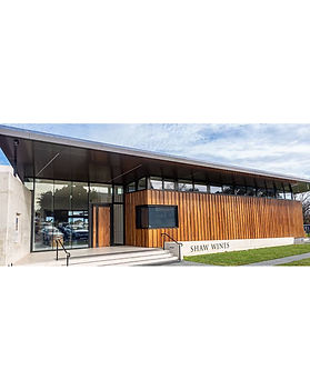 Shaw Wines timber wall cladding