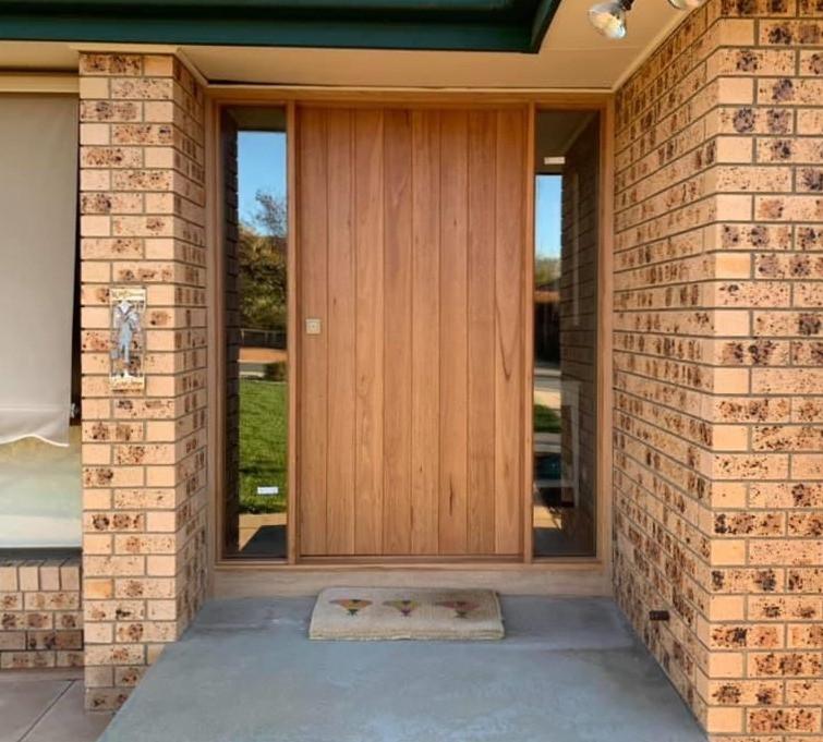 Blackbutt Heavy Veneer Door