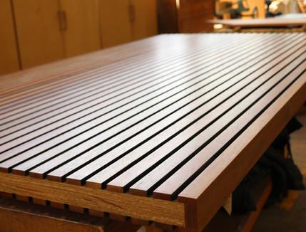 Timber Slat Door
