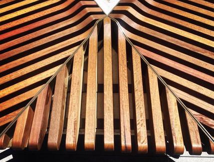 Spotted Gum Seat Slats