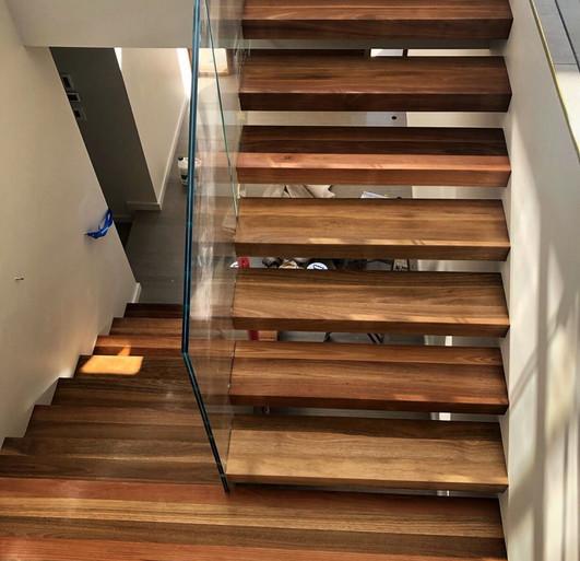 Spotted Gum Treads & Flooring