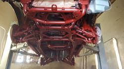 Land Rover grundiert