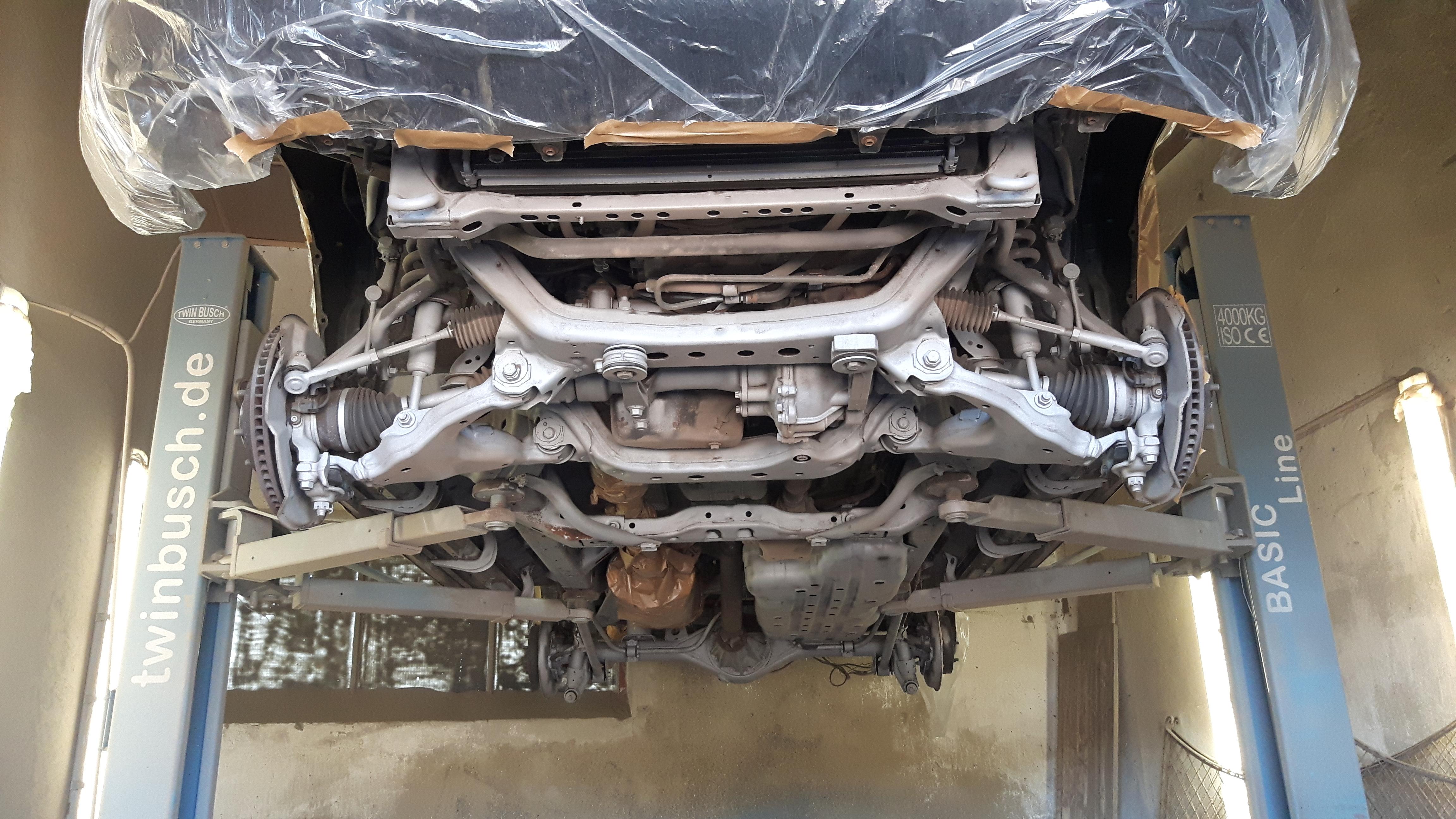 Toyota gestrahlt
