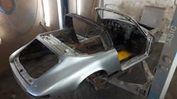 Porsche Targa vorher