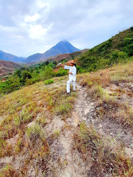 Mamo from the Sierra Nevada, Colombia so