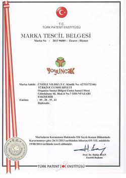 MARKA TESCİL EN ESKİ 001