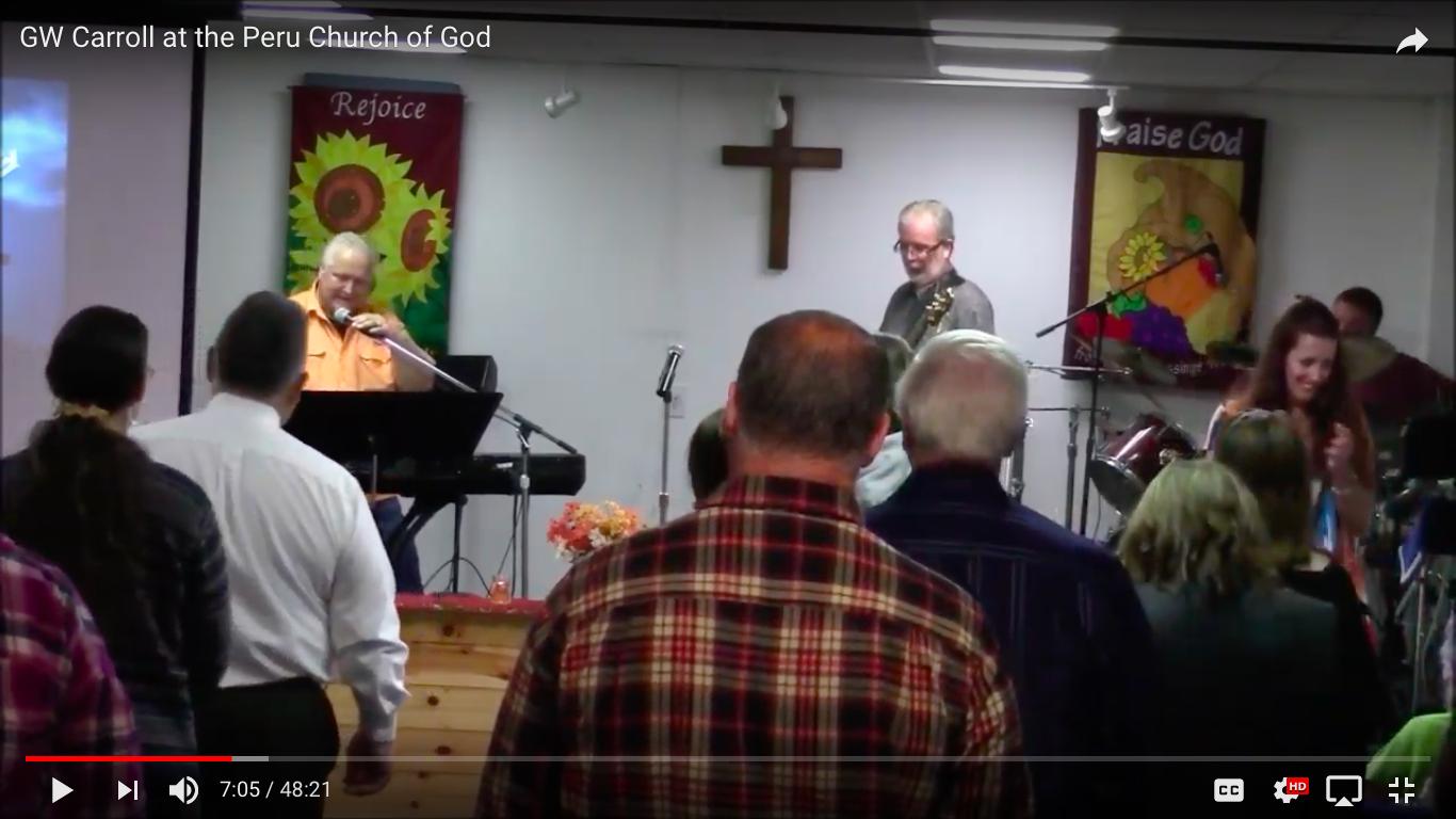 Pastor GW and Carol Caroll
