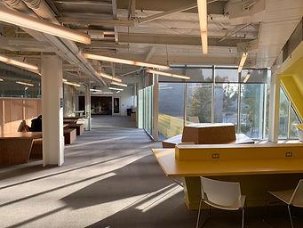 2nd floor interior of Building C