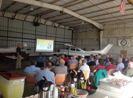 "Lehigh Valley Flying Club Hosts AOPA ""Rusty Pilot"" Seminar"