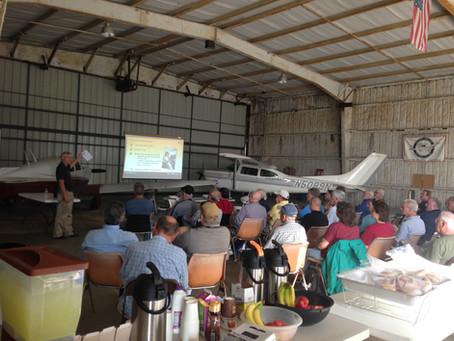 "Lehigh Valley Flying Club Hosts AOPA ""Rusty Pilot"" Seminar"