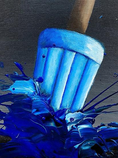 Blue Pop 8x10