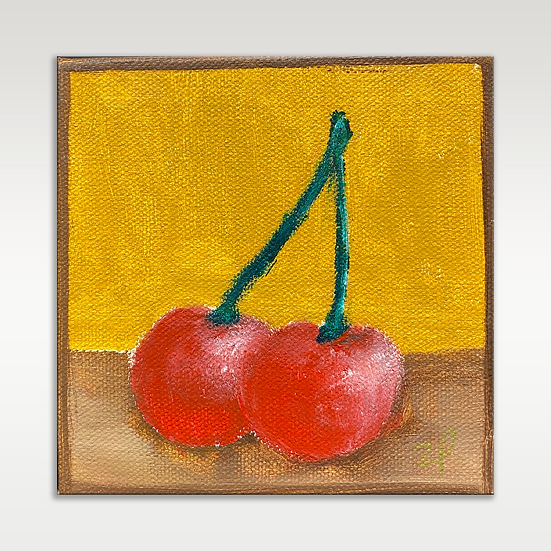 Cherries (ochre)