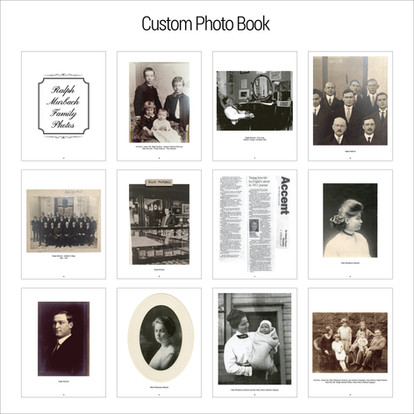 Custom Photo Book - Family History