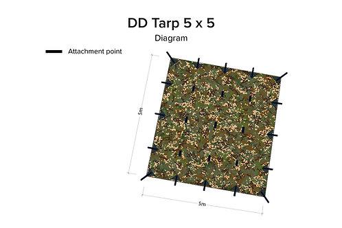 DD Tarp 5x5 - MC