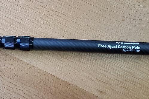 Free Adjust Carbon Pole type43-160