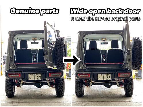 ワイドオープンドアダンパー 新型ジムニーJB64・JB74