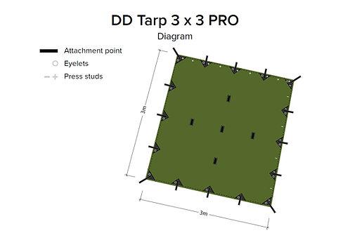 DD Tarp 3x3 - PRO