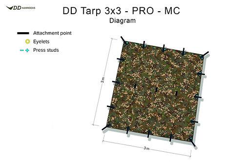 DD Tarp 3x3 - PRO - MC